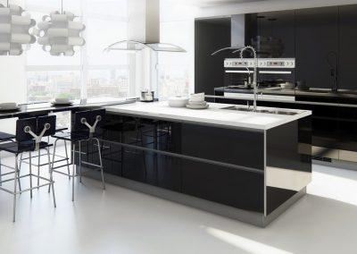 muebles-de-cocina-modernos-sin-tiradores