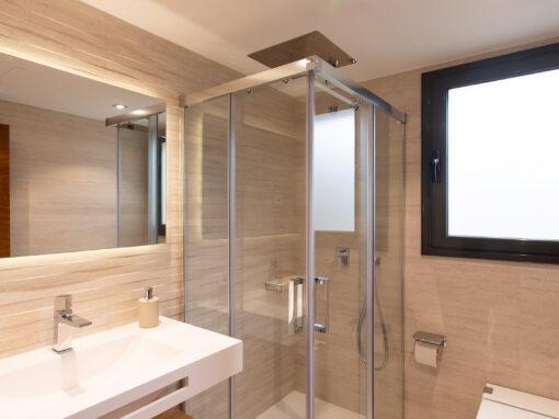 Texturas para un baño elegante
