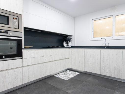 Una cocina funcional con lo más moderno